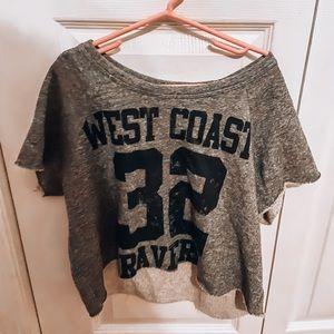Gray West Coast Top